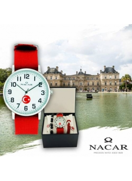 Nacar NC21-291398-ART4-TB Erkek Kol Saati