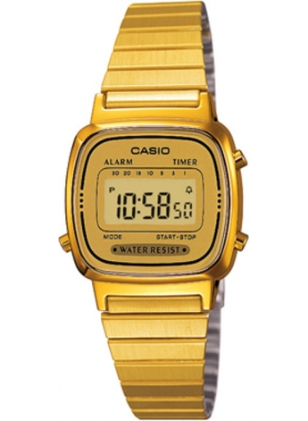 Casio LA670WGA-9DF Bayan Kol Saati