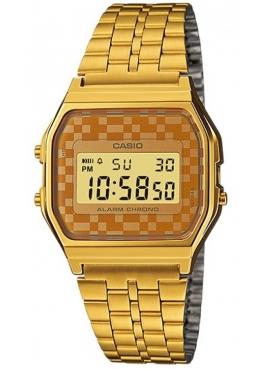 Casio A159WGEA-9ADF Sarı Retro Kol Saati
