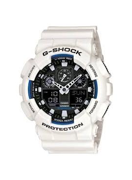 Casio GA-100-7A Saat Kayışı Beyaz