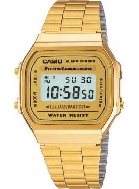 Casio A168WG-9WDF Retro Sarı Bayan Kol Saati