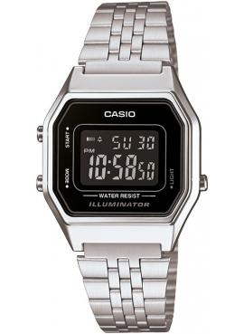 Casio LA680WA-1BDF Retro Beyaz Bayan saati
