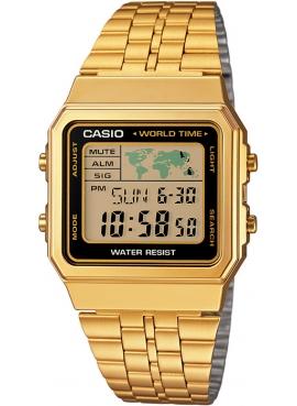 Casio A500WGA-1DF Sarı Retro Kol Saati