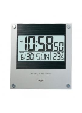 Casio ID-11S-1DF Dijital Termometre Duvar Saati