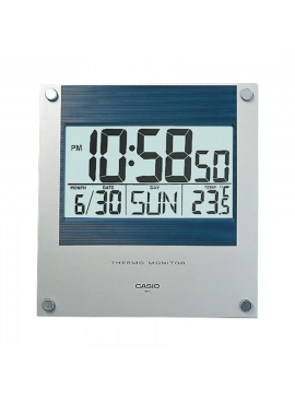 Casio ID-11S-2DF Dijital Termometre Duvar Saati