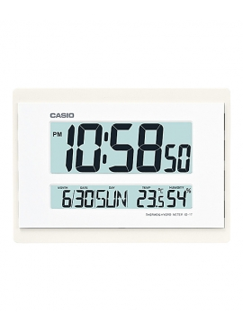 Casio ID-17-7DF Dijital Termometre Duvar Saati