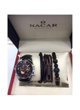 Nacar NC25-290137-ABL1-SET Erkek Kol Saati