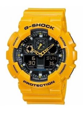 Casio GA-100A-9ADR G-Shock Erkek Kol Saati