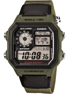Casio AE-1200WHB-3BVDF Erkek Kol Saati