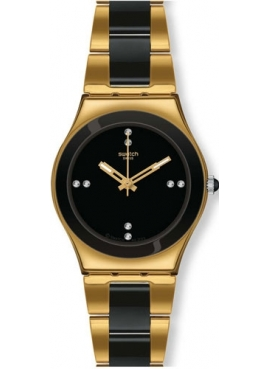 Swatch YLG124G YELLOW PEARL BLACK