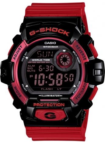 Casio G-8900SC-1RDR Erkek Kol Saati
