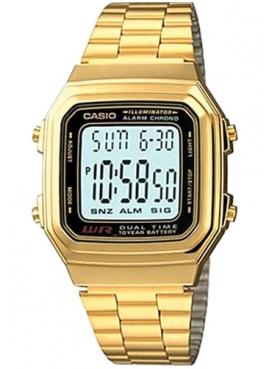 Casio A178WGA-1ADF Sarı Retro Kol Saati