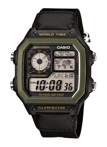 Casio AE-1200WHB-1BVDF Erkek Kol Saati